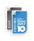 Top Ten Reviews Silver and Excellence Award